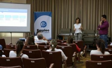 Promoción del Empleo: Ofrecieron una charla para empresas locales
