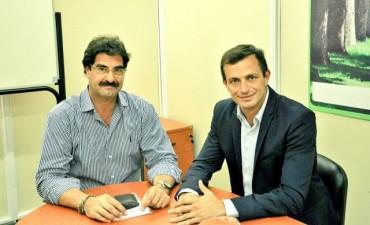El intendente Bucca se reunió con el Ministro de Agroindustria bonaerense
