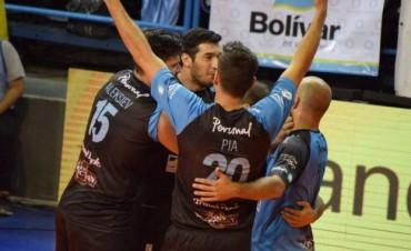 Liga Argentina BNA: Contundente victoria de Personal Bolivar para ser único lider