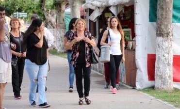 La Feria de las Colectividades pasó por Urdampilleta