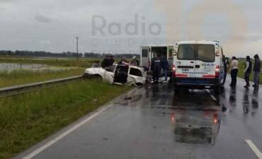 Grave accidente en Ruta 226, en inmediaciones al kilómetro 459