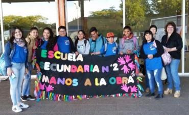 Los alumnos de 'Manos a la obra' participaron del Concurso Escolar Cooperativo de FEDECOBA