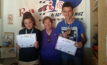 Atletismo Especial: Dos jóvenes bolivarenses obtuvieron medallas en La Pampa