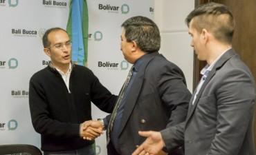 Marco Pisano firmó un convenio con el DNRPA