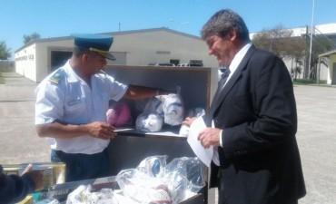 La Unidad 17 recibió una donación de mobiliario y materiales didácticos y deportivos