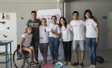 Rotaract Bolívar tuvo su primer Foro Distrital, junto a una jornada de servicios