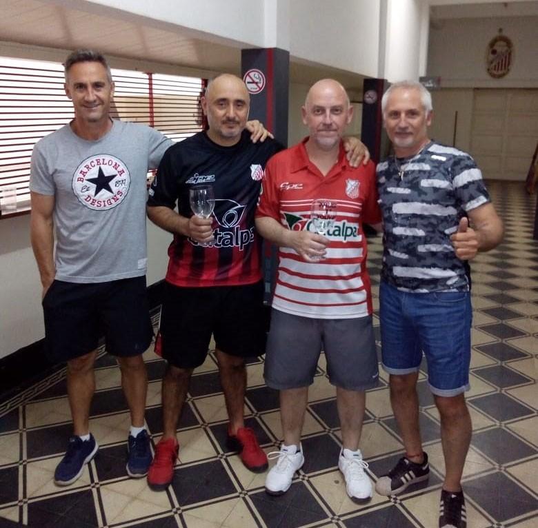 José Damiano: 'Es un orgullo tener en el club la final provincial de la 4º categoría de Pelota Paleta'