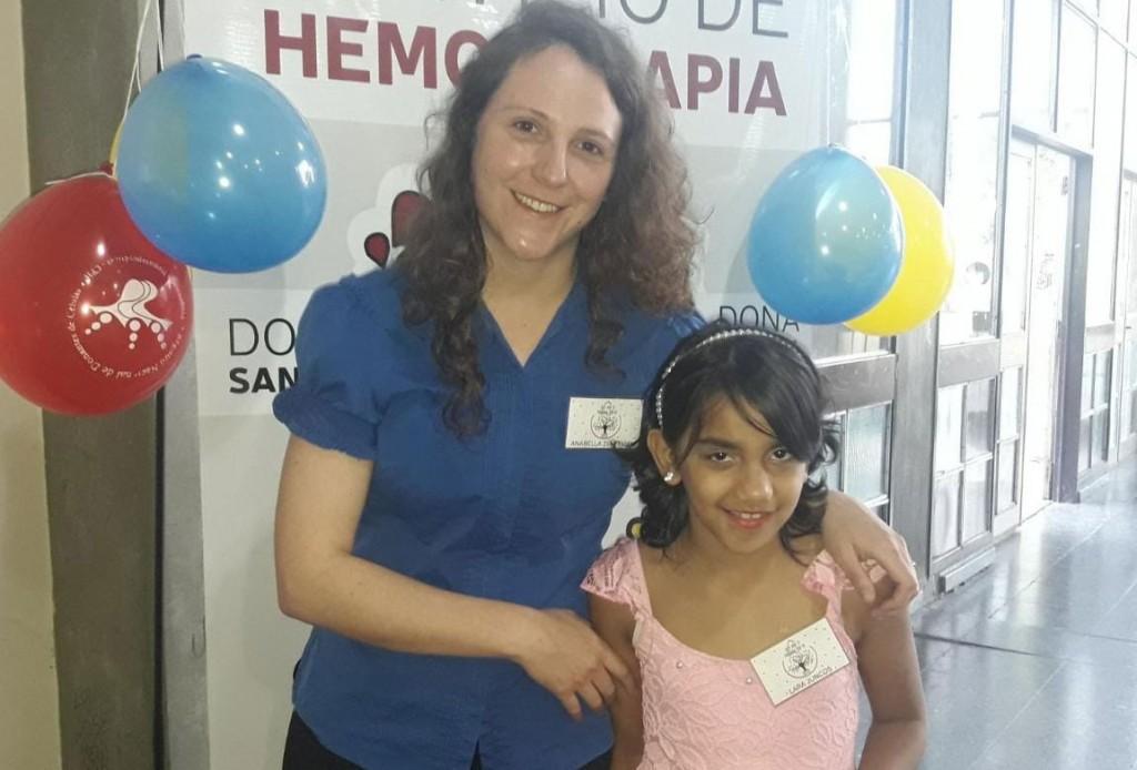 Anabella Zentringer: 'No hay nada más lindo que la oportunidad de salvar una vida'
