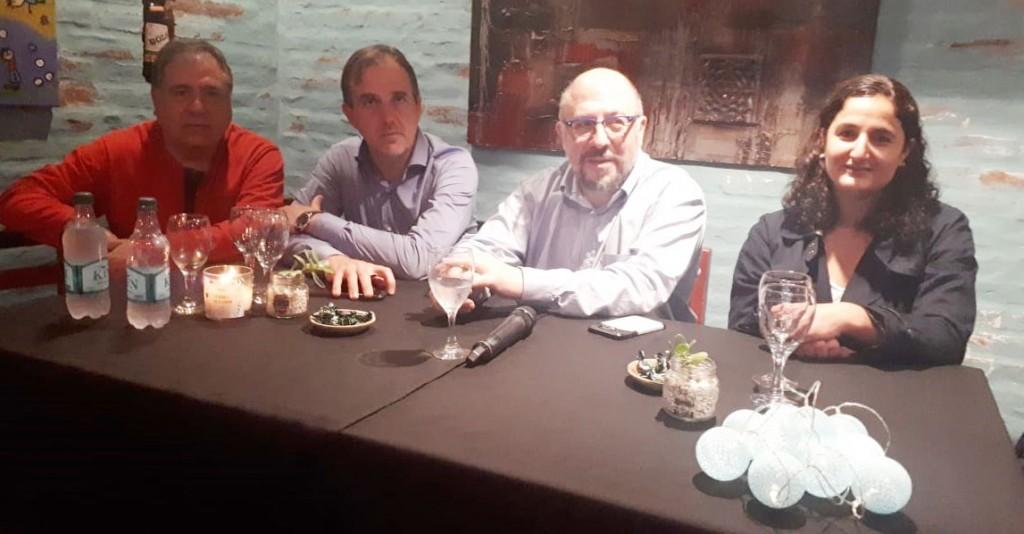 El Diputado Nacional Fabio Quetglas recorrió la ciudad en compañía de José Gabriel Erreca