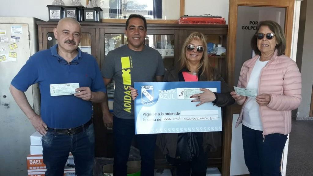 La Tarjeta Azul de Club Independiente sigue entregando premios