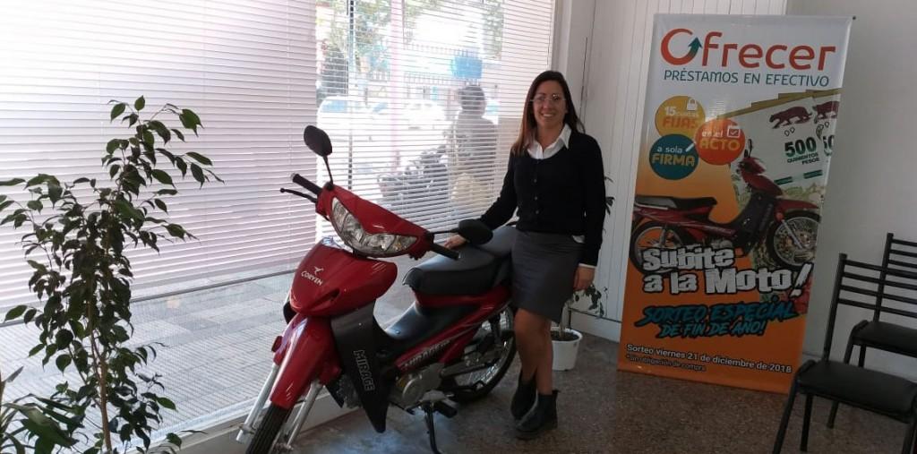 Ofrecer sigue entregando cupones para el gran sorteo de la moto 0KM