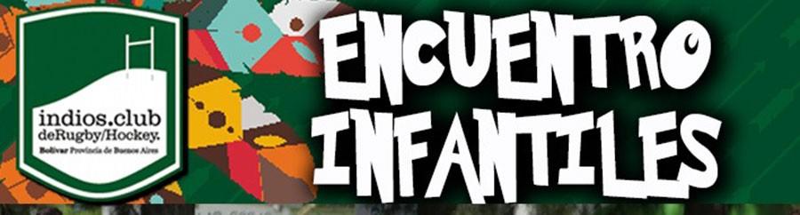 Encuentro infantil de Rugby en Club Indios este sábado 24
