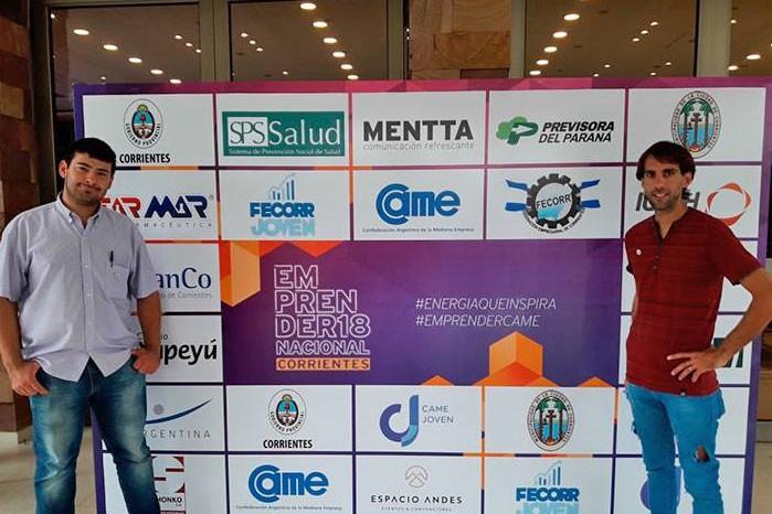 Integrantes de la subcomisión de jóvenes de la Cámara Comercial de Bolívar participaron del Emprender Nacional Corrientes 2018