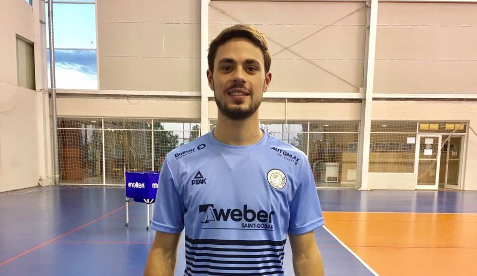 Lucas Alborch: 'No hay nada más lindo que darle una mano al club desde este lugar'