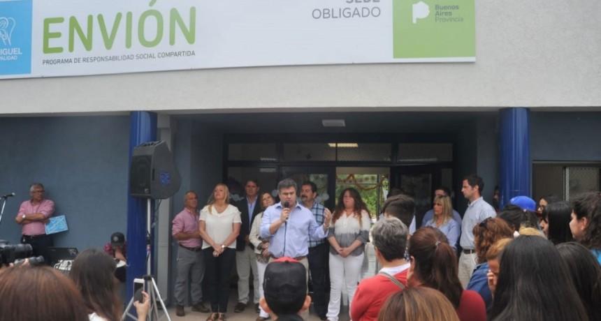 Comenzó a funcionar una nueva sede de Envión en San Miguel
