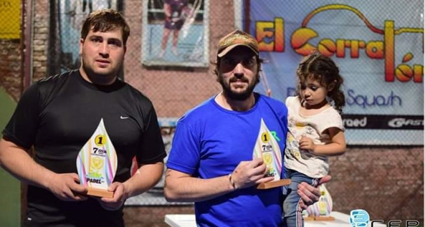 Pablo Ducasse y José Botana se consagraron campeones de la 7º categoría del Master de Padel