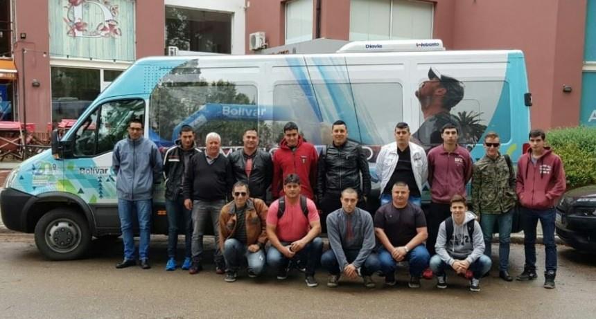 Defensa Civil y Bomberos asistieron a una jornada en Pinamar
