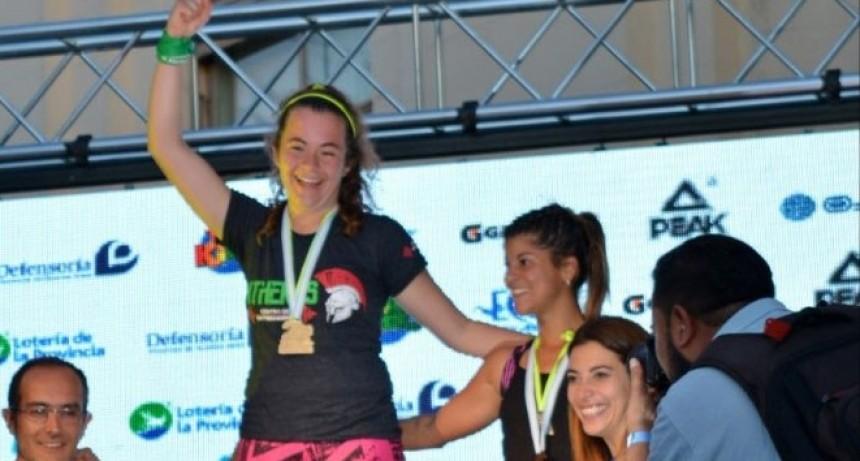 Macarena Abel: 'Me encanta competir y me motiva para seguir entrenando'