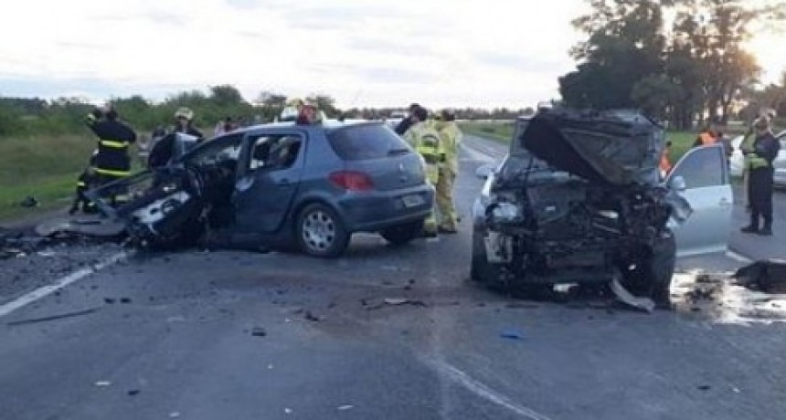 Ayer, grave accidente en Ruta 205