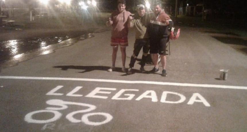 Ciclismo: Gran Premio Ciudad de Bolívar en el Parque Las Acollaradas