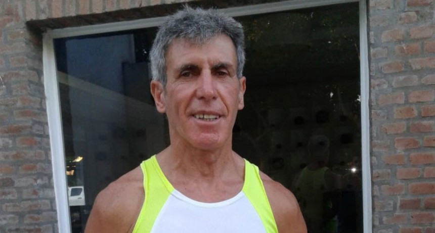 Rubén Aires participará de un campeonato de veteranos en el CENARD
