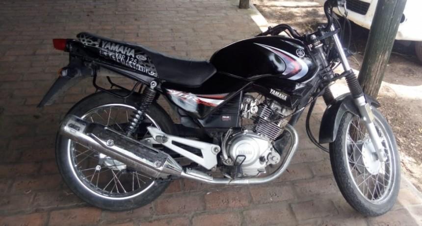 Se han recuperado al menos 5 motos con numeración de chasis y motor adulterados