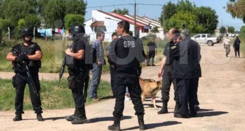 Olavarría: Robo de armas en la Unidad 2 de Sierra Chica: operativo cerrojo en el barrio municipal