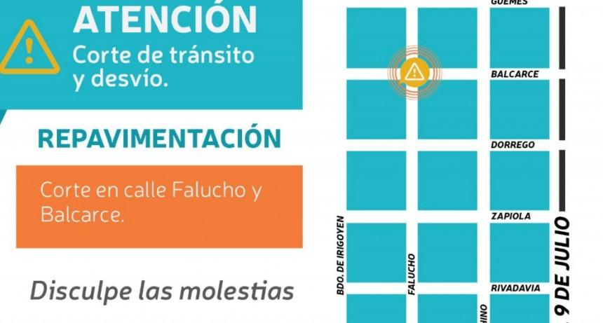 La municipalidad continúa con la pavimentación en planta urbana
