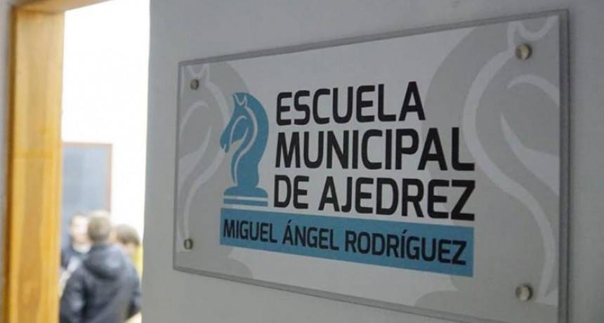 Cumplió un año la nueva sede de la Escuela Municipal de Ajedrez
