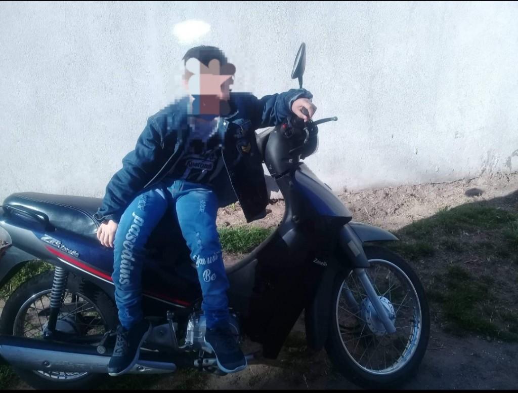 Sigue el robo de motos