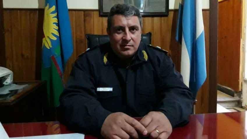 El Comisario Oriozabala dejó de ser el Jefe Departamental 25 de Mayo