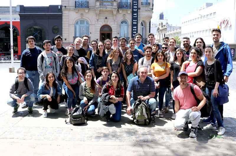 Estudiantes del Instituto 27 visitaron empresas del polo tecnológico de Tandil y la UNICEN