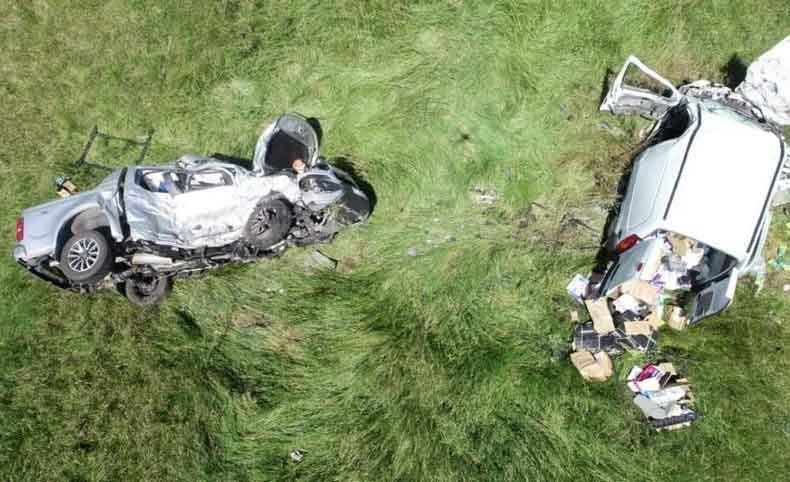 Mar Chiquita: Dos muertos tras un choque frontal en la ruta 11