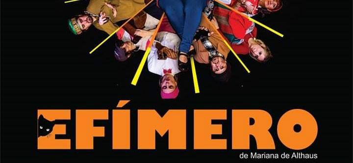 El grupo teatral Vamos de Nuevo estrena la obra 'Efimero'