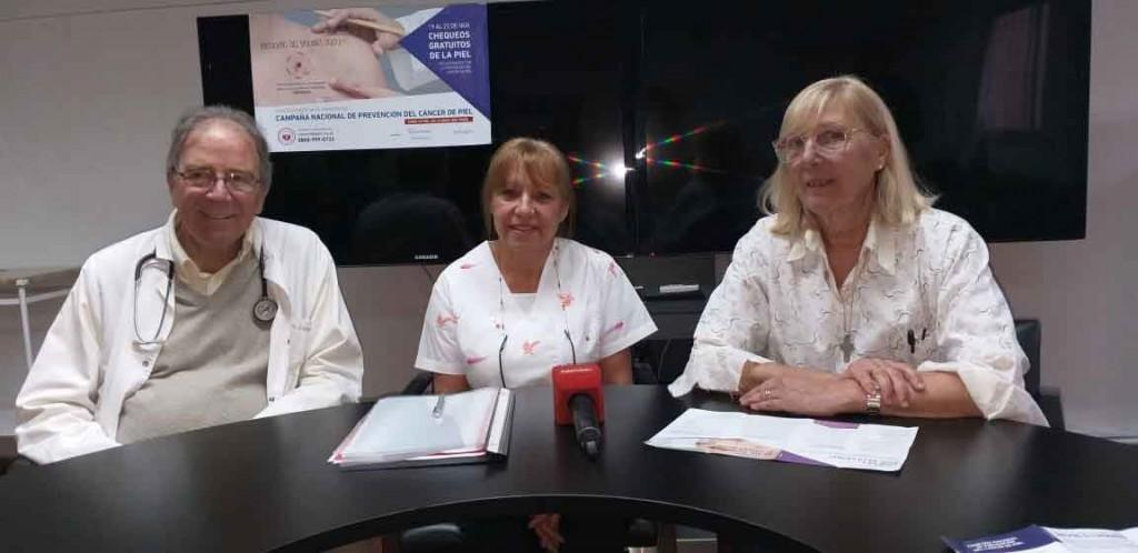 Campaña de prevención y concientización del cáncer de piel; del 19 al 22 de noviembre