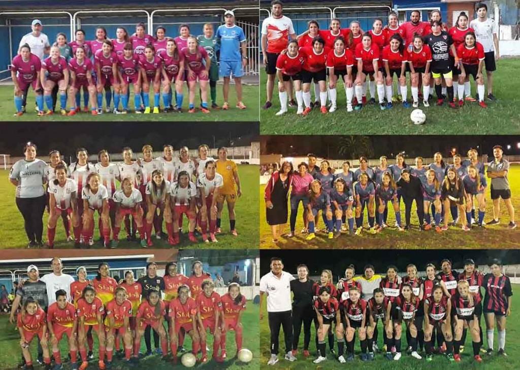 Con gran marco de público se jugó la 1º fecha de la Copa Ciudad de Futbol Femenino