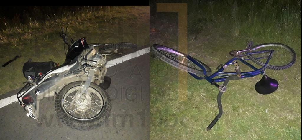 Dos personas hospitalizadas fue el saldo del accidente registrado en la noche del pasado jueves sobre ruta 226
