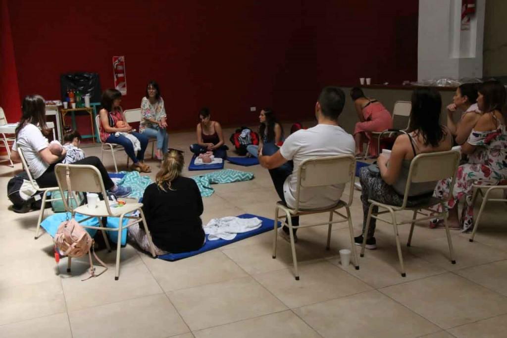 Se desarrolló un nuevo encuentro del taller Tiempo de Ser Padres