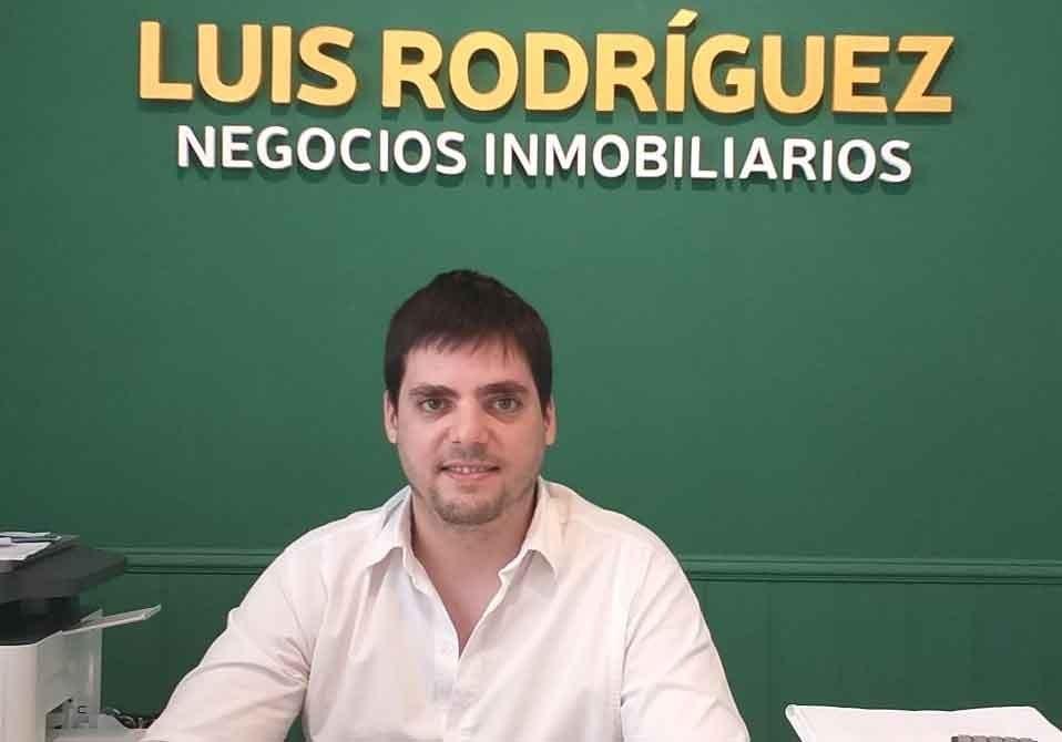 Luis Rodríguez Negocios Inmobiliarios comenzó a atender en Olavarría 46