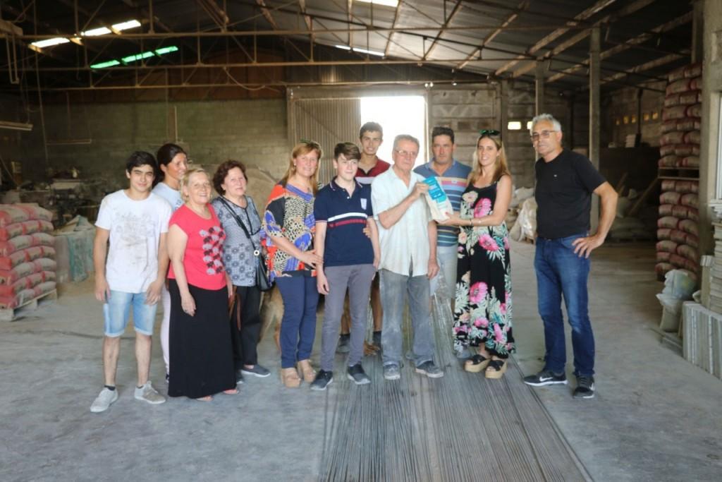 La municipalidad celebra un nuevo aniversario de la fábrica de mosaicos de Carlos Sena