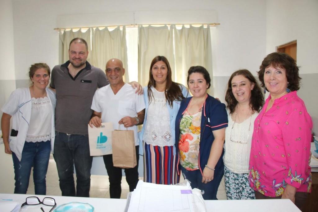 La municipalidad reconoció a Roberto Almaraz por sus 40 años de servicio
