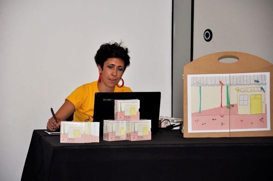 Daiana Fumeaux: 'Me emocionó mucho ser parte de este proyecto por lo que significa no solo para mí sino también para la Biblioteca'