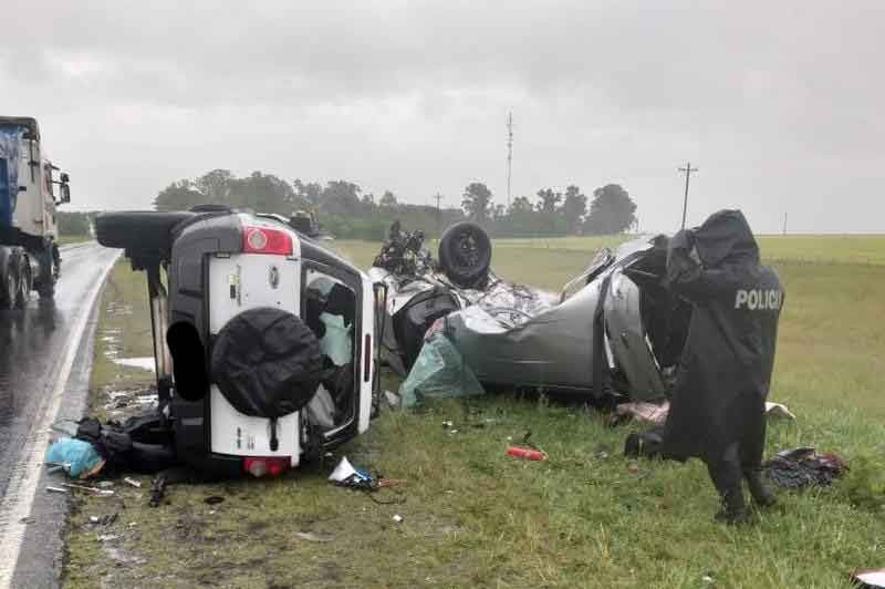 Accidente trágico en Ruta 3 entre Azul y Chillar