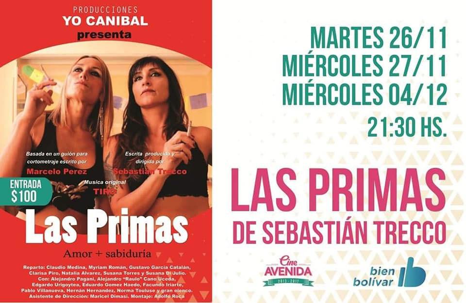 'Las Primas' abren la semana de proyecciones del Cine Avenida