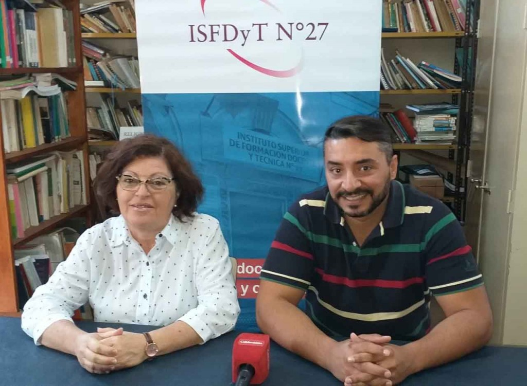 Se presentó la oferta académica del ISFDyT N.º 27 para el ciclo lectivo 2020