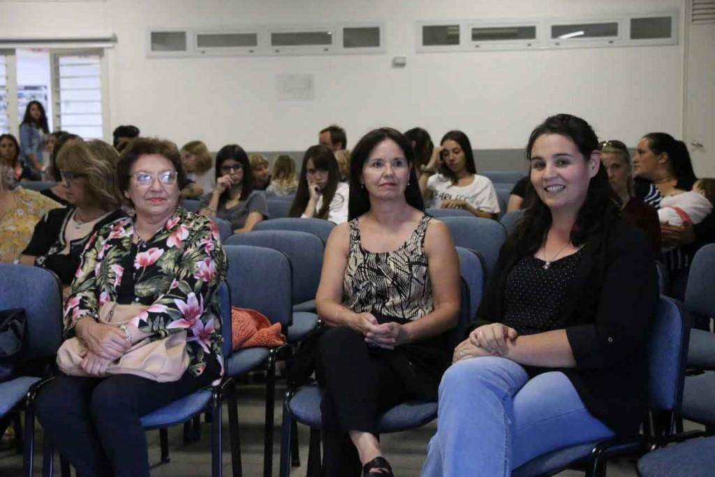 La intendenta Natiello participó de la jornada Nosotras Decimos organizada por la dirección de DD HH