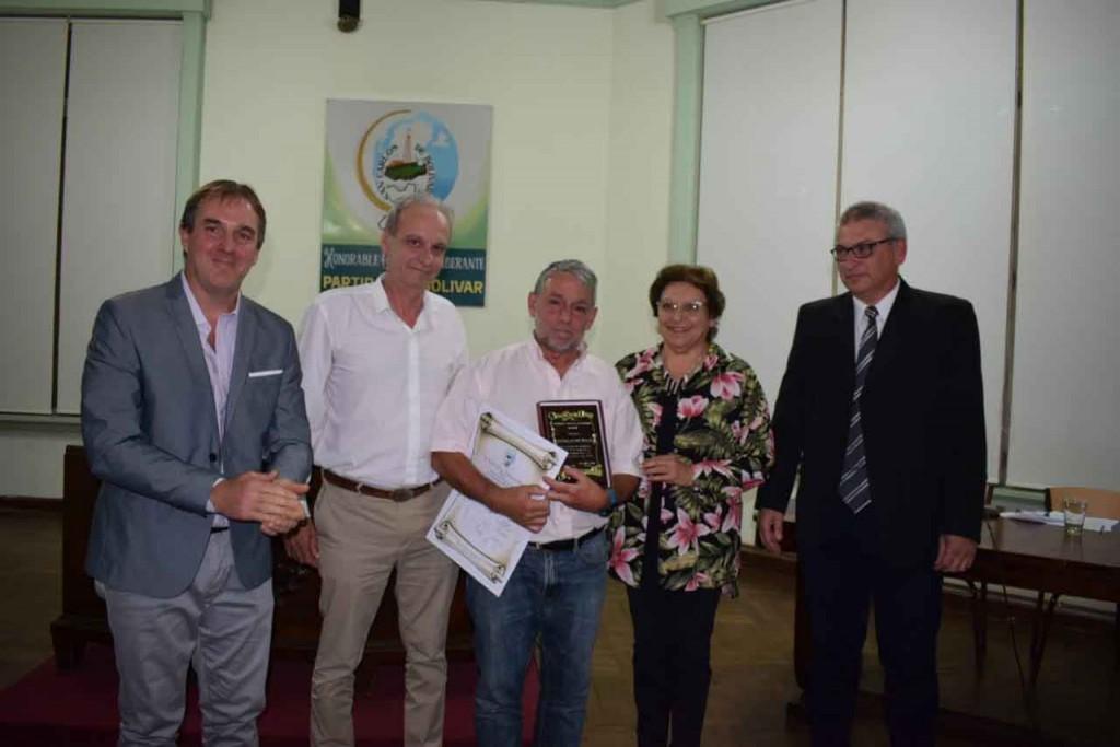 El HCD declaró a Marcelo 'Chamaco' Valdez como personalidad destacada de la ciudad por su aporte cultural