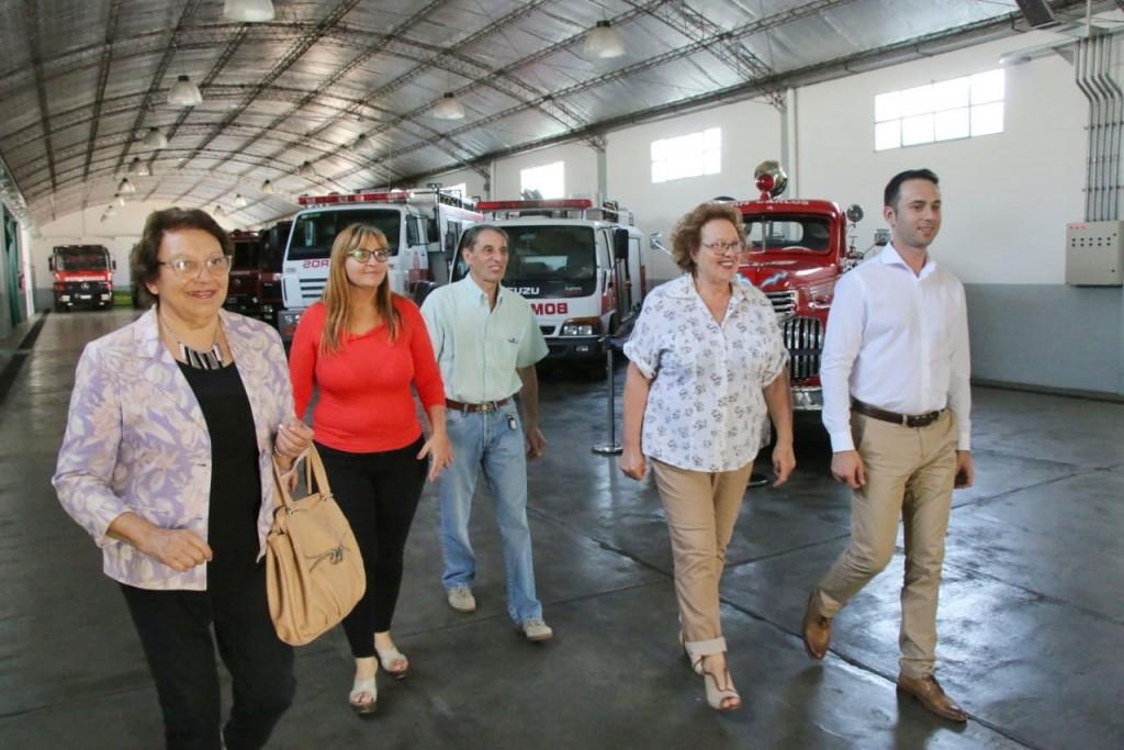 La intendenta Natiello saludó a los bomberos voluntarios en su 63º aniversario