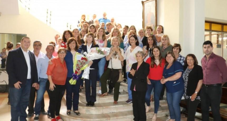 La Municipalidad realizó un reconocimiento a empleadas municipales que se jubilaron