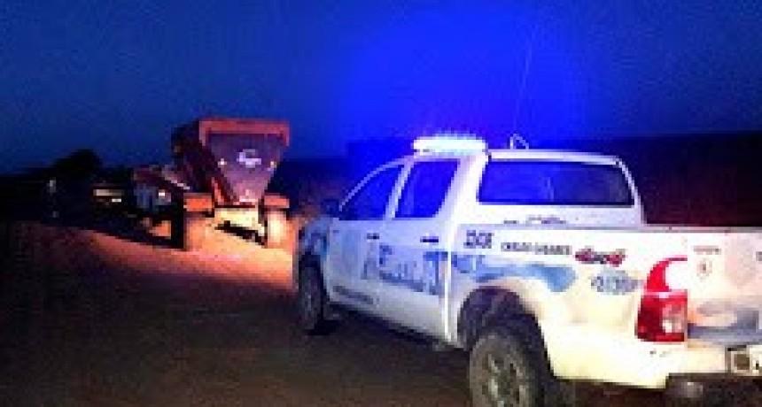 Carlos Casares: Recuperan mixer robado en la zona rural en el mes de julio
